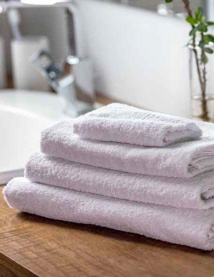 Royal Rose White Towels