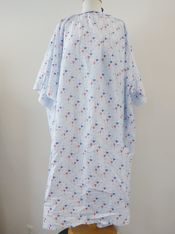 Superplus bariatric iv patient gown, iv gown