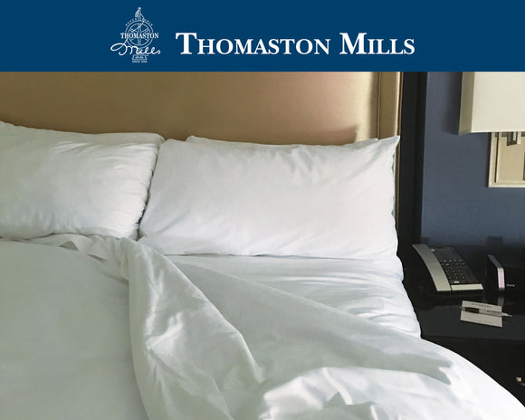 Thomaston sheets-Thomaston Mills T200 Percale Hotel Sheets
