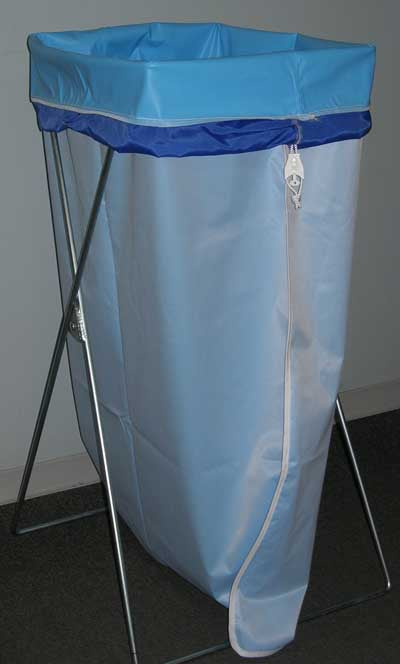 Tapered Polynit Vinyl Laundry Bag