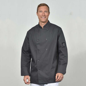 chef wear-Chef Coat in Charcoal
