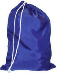 wholesale nylon laundry bag - royal blue laundry bag