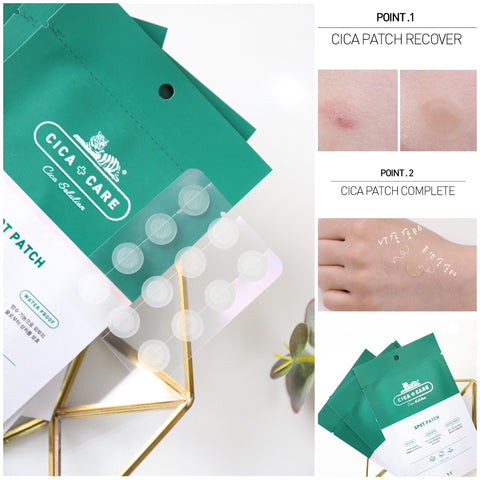 VT Cica Care Pimple Spot Patch & Acne | Korean Skin Care | Shop Amabie