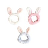 Bunny Headbands - Shop Amabie: For the best Korean beauty best, Korean skincare, Japanese beauty, Japanese skincare, Taiwanese beauty, Taiwanese skincare