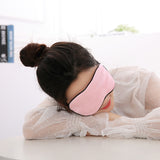 Cucommax Duplex Imitation Mulberry Silk Sleeping Eye Mask Eye Shade Sleep Mask Black Mask Bandage on Eyes for Sleeping-MSK53 - Shop Amabie: For the best Korean beauty best, Korean skincare, Japanese beauty, Japanese skincare, Taiwanese beauty, Taiwanese skincare