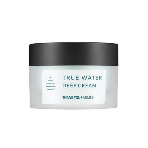 True Water Deep Cream - Shop Amabie: For the best Korean beauty best, Korean skincare, Japanese beauty, Japanese skincare, Taiwanese beauty, Taiwanese skincare
