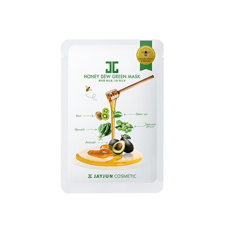 Honey Dew Green Mask - Shop Amabie: For the best Korean beauty best, Korean skincare, Japanese beauty, Japanese skincare, Taiwanese beauty, Taiwanese skincare