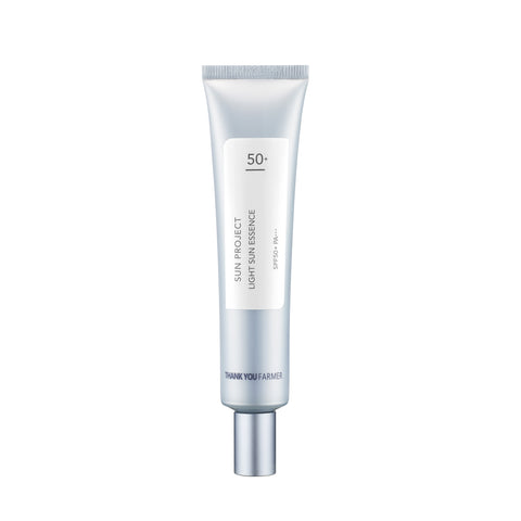 Sun Project Light Sun Essence SPF 50+ PA+++ - Shop Amabie: For the best Korean beauty best, Korean skincare, Japanese beauty, Japanese skincare, Taiwanese beauty, Taiwanese skincare