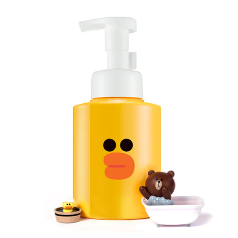 Line Friends Edition Sally Micro Bubble Foam (Green Tea Seed) - Shop Amabie: For the best Korean beauty best, Korean skincare, Japanese beauty, Japanese skincare, Taiwanese beauty, Taiwanese skincare
