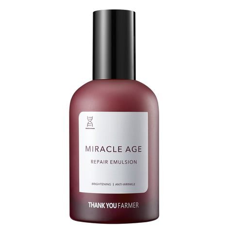 Miracle Age Repair Emulsion - Shop Amabie: For the best Korean beauty best, Korean skincare, Japanese beauty, Japanese skincare, Taiwanese beauty, Taiwanese skincare