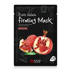 Fruits Gelato Firming Mask - Pomegranate - Shop Amabie: For the best Korean beauty best, Korean skincare, Japanese beauty, Japanese skincare, Taiwanese beauty, Taiwanese skincare