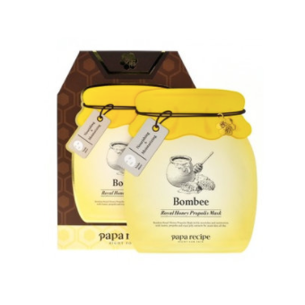 BOX SET Bombee Royal Honey Propolis Mask - 4th Anniversary Limited Edition - Shop Amabie: For the best Korean beauty best, Korean skincare, Japanese beauty, Japanese skincare, Taiwanese beauty, Taiwanese skincare