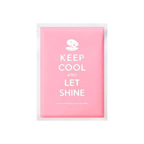 Keep Cool and Let Shine Mask - Shop Amabie: For the best Korean beauty best, Korean skincare, Japanese beauty, Japanese skincare, Taiwanese beauty, Taiwanese skincare