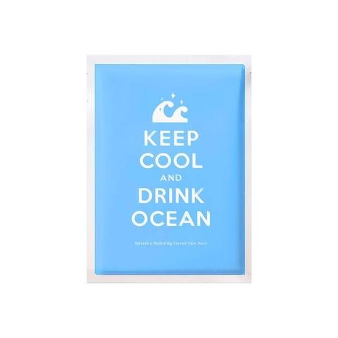 Keep Cool and Drink Ocean Mask - Shop Amabie: For the best Korean beauty best, Korean skincare, Japanese beauty, Japanese skincare, Taiwanese beauty, Taiwanese skincare