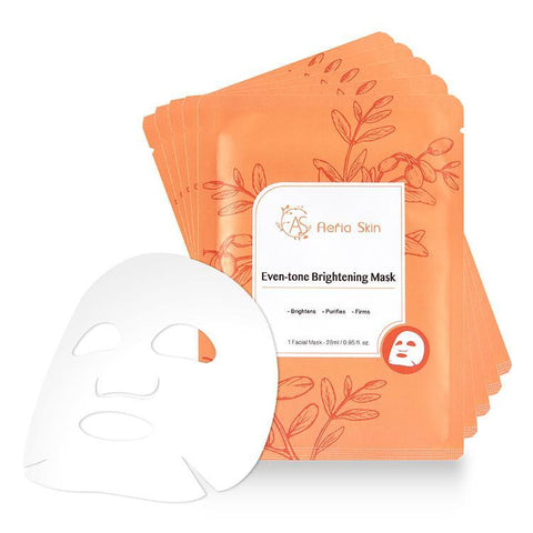 Even-Tone Brightening Mask - Shop Amabie: For the best Korean beauty best, Korean skincare, Japanese beauty, Japanese skincare, Taiwanese beauty, Taiwanese skincare