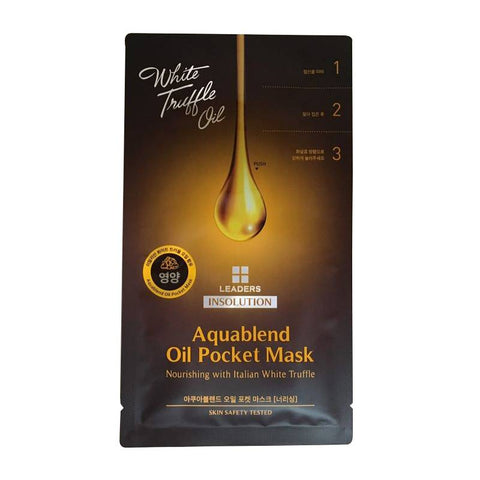 BOX SET White Truffle Oil Aquablend Oil Pocket Mask Nourishing - Shop Amabie: For the best Korean beauty best, Korean skincare, Japanese beauty, Japanese skincare, Taiwanese beauty, Taiwanese skincare