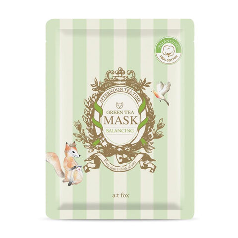 Green Tea Mask: Balancing - Shop Amabie: For the best Korean beauty best, Korean skincare, Japanese beauty, Japanese skincare, Taiwanese beauty, Taiwanese skincare