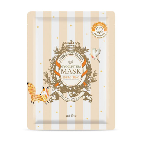 Gyoolpy Tea Mask: Energizing - Shop Amabie: For the best Korean beauty best, Korean skincare, Japanese beauty, Japanese skincare, Taiwanese beauty, Taiwanese skincare
