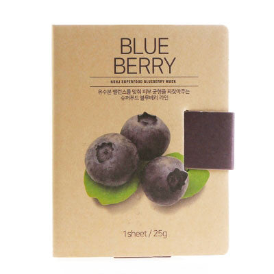 BOX SET Superfood Mask - Blueberry - Shop Amabie: For the best Korean beauty best, Korean skincare, Japanese beauty, Japanese skincare, Taiwanese beauty, Taiwanese skincare