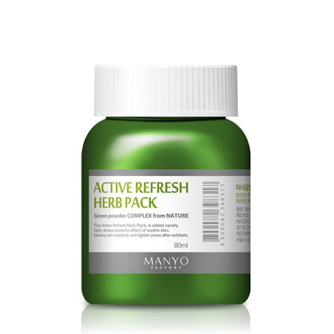 Active Refresh Herb Pack - Shop Amabie: For the best Korean beauty best, Korean skincare, Japanese beauty, Japanese skincare, Taiwanese beauty, Taiwanese skincare