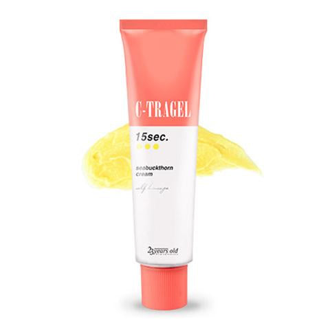 C Tragel Cream 15 sec Seabuckthorn Cream - Shop Amabie: For the best Korean beauty best, Korean skincare, Japanese beauty, Japanese skincare, Taiwanese beauty, Taiwanese skincare