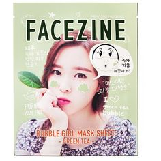 Bubble Girl Mask Sheet Green Tea