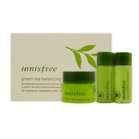 Green Tea Balancing Skin Care Set - Shop Amabie: For the best Korean beauty best, Korean skincare, Japanese beauty, Japanese skincare, Taiwanese beauty, Taiwanese skincare