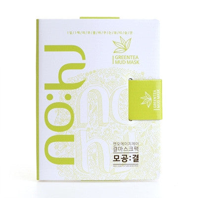 BOX SET Anti-Pore Texture Mask Pack Green Tea Mud Mask - Shop Amabie: For the best Korean beauty best, Korean skincare, Japanese beauty, Japanese skincare, Taiwanese beauty, Taiwanese skincare