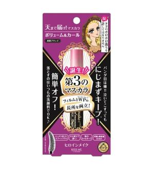 Heroine Make Volume & Curl Mascara Advanced Film - Shop Amabie: For the best Korean beauty best, Korean skincare, Japanese beauty, Japanese skincare, Taiwanese beauty, Taiwanese skincare