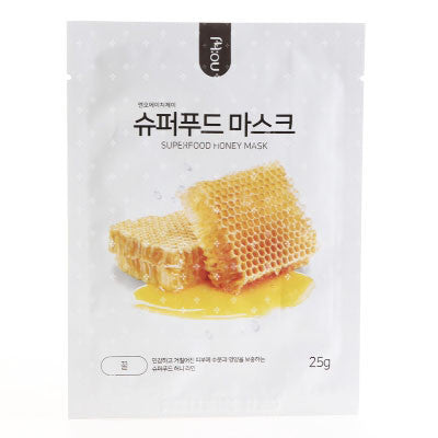Superfood Mask - Honey - Shop Amabie: For the best Korean beauty best, Korean skincare, Japanese beauty, Japanese skincare, Taiwanese beauty, Taiwanese skincare