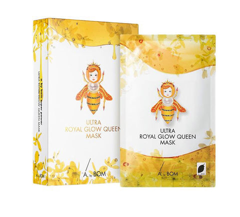 BOX SET Ultra Royal Glow Queen Mask (10 Masks) - Shop Amabie: For the best Korean beauty best, Korean skincare, Japanese beauty, Japanese skincare, Taiwanese beauty, Taiwanese skincare