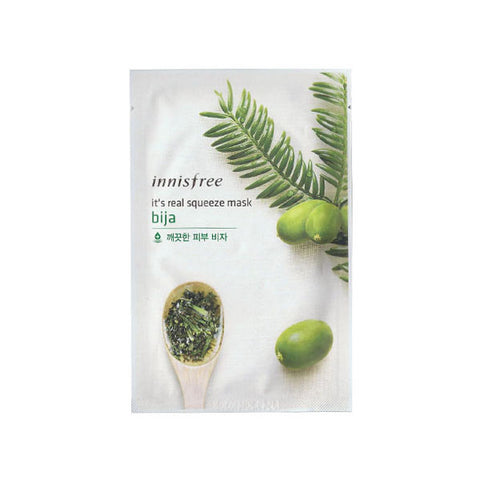 It's Real Squeeze Mask - Bija Mask - Shop Amabie: For the best Korean beauty best, Korean skincare, Japanese beauty, Japanese skincare, Taiwanese beauty, Taiwanese skincare
