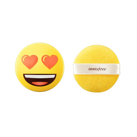 No Sebum Mineral Powder - Emoji Version - Shop Amabie: For the best Korean beauty best, Korean skincare, Japanese beauty, Japanese skincare, Taiwanese beauty, Taiwanese skincare