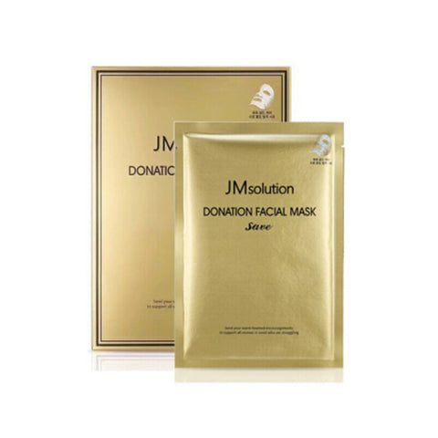 Donation Facial Mask - Save - Shop Amabie: For the best Korean beauty best, Korean skincare, Japanese beauty, Japanese skincare, Taiwanese beauty, Taiwanese skincare