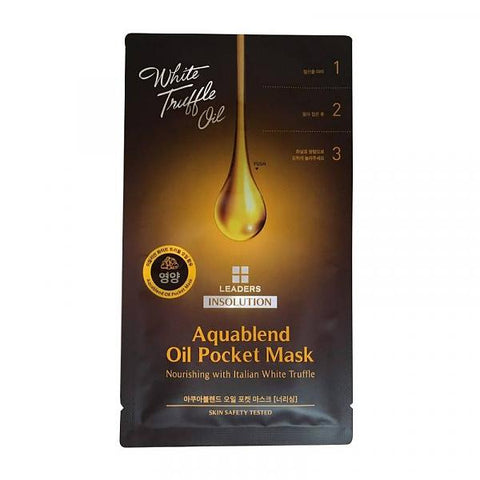 White Truffle Oil Aquablend Oil Pocket Mask Nourishing
