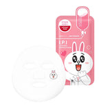 LINE Friends - I.P.I Lightmax Ampoule Mask - Shop Amabie: For the best Korean beauty best, Korean skincare, Japanese beauty, Japanese skincare, Taiwanese beauty, Taiwanese skincare