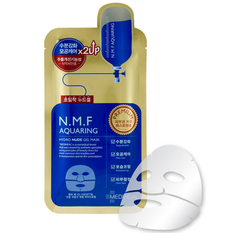 NMF Aquaring Hydro Nude Gel Mask - Shop Amabie: For the best Korean beauty best, Korean skincare, Japanese beauty, Japanese skincare, Taiwanese beauty, Taiwanese skincare