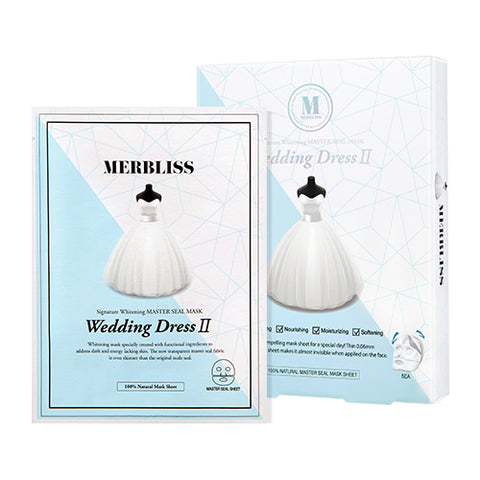 BOX SET Wedding Dress II Mask - Shop Amabie: For the best Korean beauty best, Korean skincare, Japanese beauty, Japanese skincare, Taiwanese beauty, Taiwanese skincare