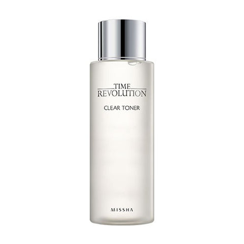 Missha Time Revolution Clear Toner - Shop Amabie: For the best Korean beauty best, Korean skincare, Japanese beauty, Japanese skincare, Taiwanese beauty, Taiwanese skincare