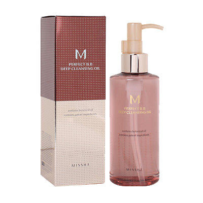 M Perfect BB Deep Cleansing Oil - Shop Amabie: For the best Korean beauty best, Korean skincare, Japanese beauty, Japanese skincare, Taiwanese beauty, Taiwanese skincare