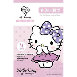 Hello Kitty Hyaluronan Hydrating Mask - Shop Amabie: For the best Korean beauty best, Korean skincare, Japanese beauty, Japanese skincare, Taiwanese beauty, Taiwanese skincare