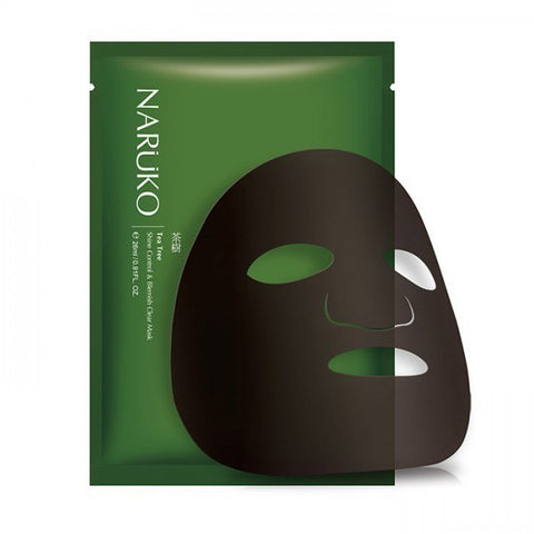 Tea Tree Shine Control & Blemish Clear Mask - Shop Amabie: For the best Korean beauty best, Korean skincare, Japanese beauty, Japanese skincare, Taiwanese beauty, Taiwanese skincare