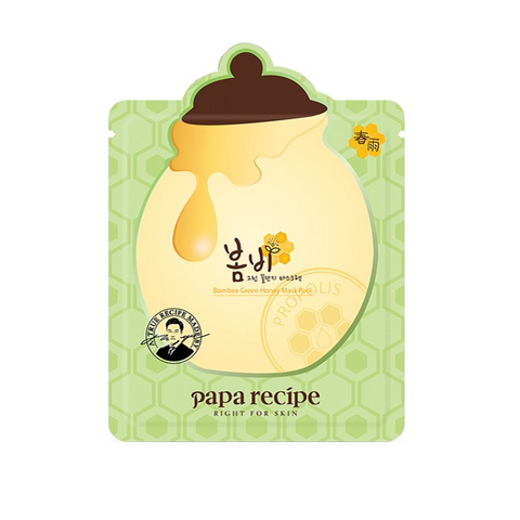 Bombee Green Honey Mask - Shop Amabie: For the best Korean beauty best, Korean skincare, Japanese beauty, Japanese skincare, Taiwanese beauty, Taiwanese skincare