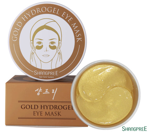 Gold Hydro Gel Eye Mask - Shop Amabie: For the best Korean beauty best, Korean skincare, Japanese beauty, Japanese skincare, Taiwanese beauty, Taiwanese skincare