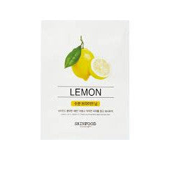 Beauty in a Food Lemon Sheetmask - Shop Amabie: For the best Korean beauty best, Korean skincare, Japanese beauty, Japanese skincare, Taiwanese beauty, Taiwanese skincare