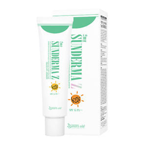 2mg Sunderma Z Sun Cream SPF45+ - Shop Amabie: For the best Korean beauty best, Korean skincare, Japanese beauty, Japanese skincare, Taiwanese beauty, Taiwanese skincare