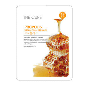 The Cure - Propolis Mask - Shop Amabie: For the best Korean beauty best, Korean skincare, Japanese beauty, Japanese skincare, Taiwanese beauty, Taiwanese skincare