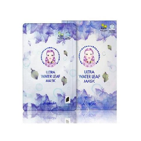 BOX SET Ultra Water Leaf Mask - Shop Amabie: For the best Korean beauty best, Korean skincare, Japanese beauty, Japanese skincare, Taiwanese beauty, Taiwanese skincare