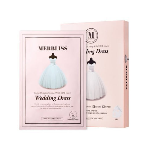 BOX SET Wedding Dress Mask - Shop Amabie: For the best Korean beauty best, Korean skincare, Japanese beauty, Japanese skincare, Taiwanese beauty, Taiwanese skincare