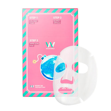 3 Step Water Bomb Mask - Shop Amabie: For the best Korean beauty best, Korean skincare, Japanese beauty, Japanese skincare, Taiwanese beauty, Taiwanese skincare